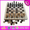 2016 new design wooden game chess set,Intelligent wooden game set,high quality wooden chess set WJ277101