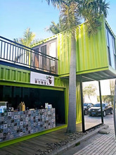 Factory Bespoke Shipping Container Coffee Shop