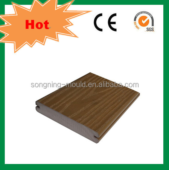 ASA surface wpc decking outdoor sports flooring tiles