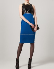 CHEFON New royal blue cocktail dress
