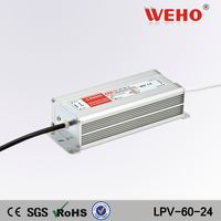 new type waterproof 60w 24v vcd power supply