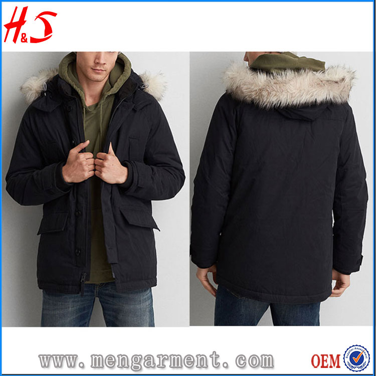 M M Direct Clothing From China Supplier Faux Fur Men Witer Jackets Coat