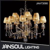 JANSOUL new design hand blown glass led chandelier modern hotel furniture