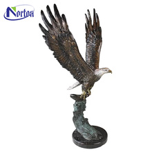 Best price large bronze eagle statue for sale NTBM-231A