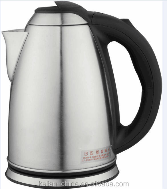 Stainless steel brew kettle, electric tea kettle for homeappliance
