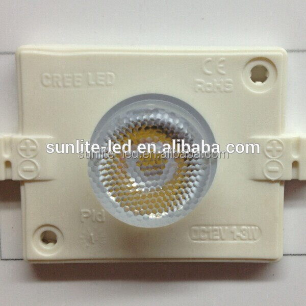Cree 3W high power white emitting color led module , good price led sign module/ led module for lighting box, Cree led module