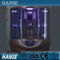 HS-SR022 New arrival deluxe enclosed touch screen control steam shower room