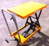 Hydraulic double scissor princess auto atv lift table
