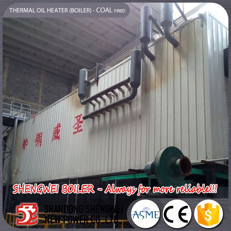 Coal Power Plant Burning Thermal Oil Boiler