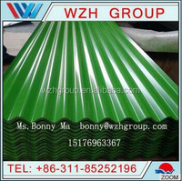 cheap metal roofing sheet / copper colored metal roof
