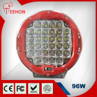 9inch 96W Led Driving Work Light lamp spot 4WD Offroad light Intensity LED Auxiliary working Light