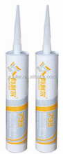 Gray Plastic Tube Packing Silicone Sealant
