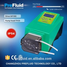 hot sell high precision peristaltic dosing pump 6v 12v 24v dc with CE&ISO