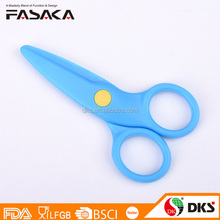 "XDD004-4"" best Safty plastic kids scissors for cutting paper"