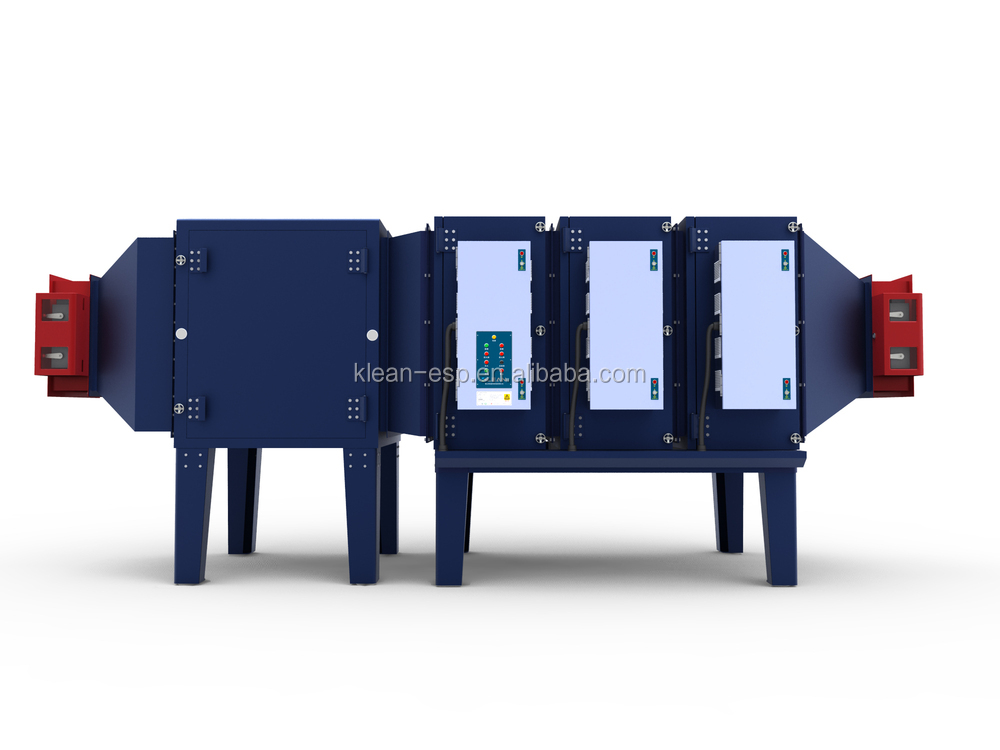 Industrial Electrostatic Oil Filtration Unit for disposable glove