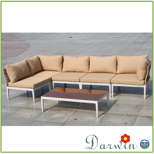 Wholesale Modern Hotsale Cheap Outdoor PE Rattan Wicker Patio Latest Design Sofa set Restaurant Furniture of Hotel Second Hand