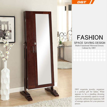 DBT mirror cabinet design 2 doors dressing Mirror Jewelry Armoire