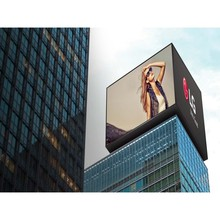 LED Pole Screen Big Digital Signage Outdoor Billboard Advertisement Display