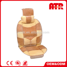 Steering wheel and safety belt covers high quality ventilated car seat cushion