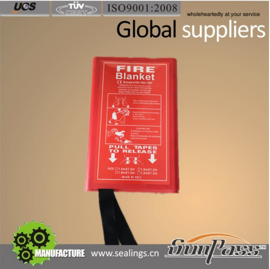 Widely Use Fireproof Fiberglass Fire Blanket