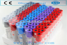 Disposable medical Gel and pro-coagulation activator blood collection tube machine 1-8ml