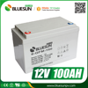 Bluesun 12v 100ah lead acid solar power storage battery charger
