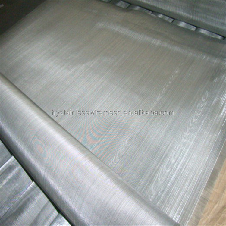 Manufacturer spot supplies ISO9001 stainless steel wire 120 micron stainless steel mesh screen