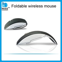 Save Power Mini 2.4g Wireless Mouse Arc Folding Mouse VMW-21