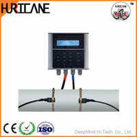 High performance MC Transducer Ultrasonic Flow Meter with Clamp on Sensors