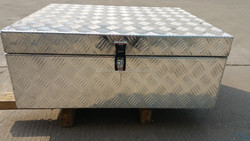 Aluminum Storage Bed Trailer Tongue with Lock