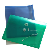 Fashion Popular plastic waterproof clear plastic file envelopes