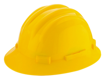 Construction Hi-vis Reflective Work Safety Helmet