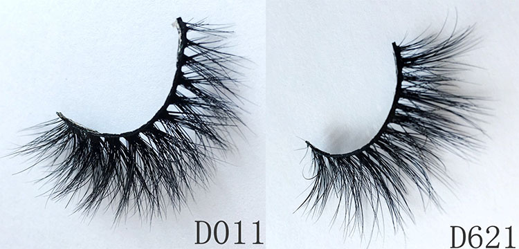 Cruelty free 3D mink eye lashes private label 3D silk eyelashes