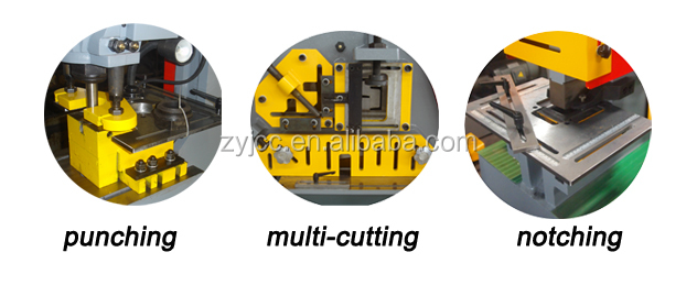 hydraulic punch shearing machine ironworker for sale