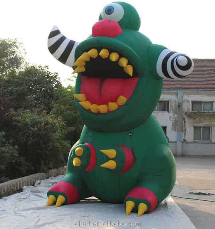 Monster giant inflatable, inflatable Halloween monsters