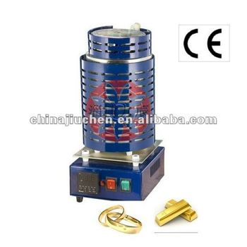 1-3kg Tilt-Pour Automatic Gold Melting Furnace
