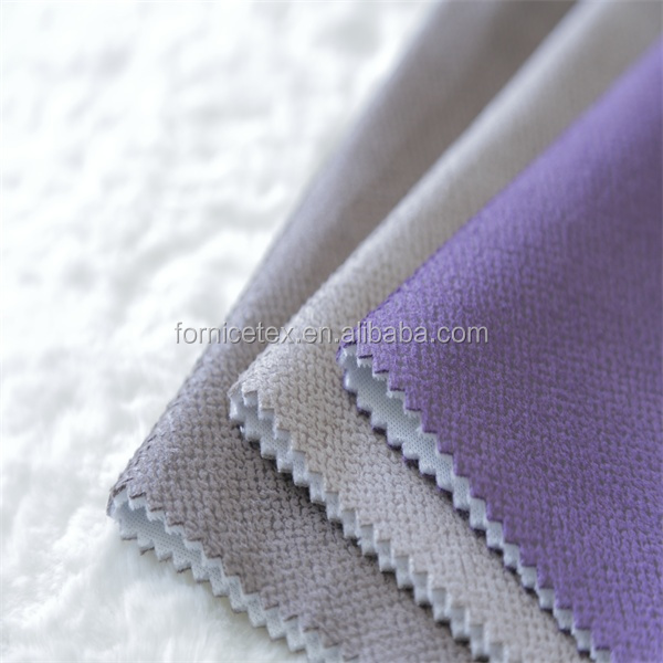 High auto upholstery fabric car seat bronzing suede upholstery fabric chinese upholstery fabric