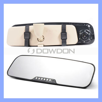 Popular 1080p HD Mirror Camera DVR with Cycle Recording Wide View Angle Car Rearview Mirror Camera DVR