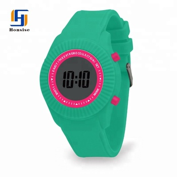 Wholesale China Cheap Silicone Sports Digital Men Watches In Bulk