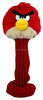 Customized knitted Red Bird Golf driver Headcover