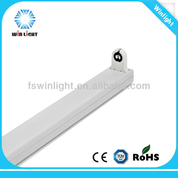 Single tube t8 t5 led fluorescent light lamp bracket