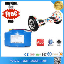 Surprising!Buy one get Free One 2 Set Mobility Scooter Big Wheel Hoverboard Folding Electric Scooter for Adult