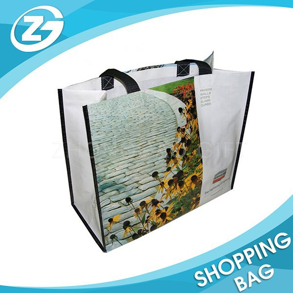 Customized Recycled Large PP Woven Shopping Bag