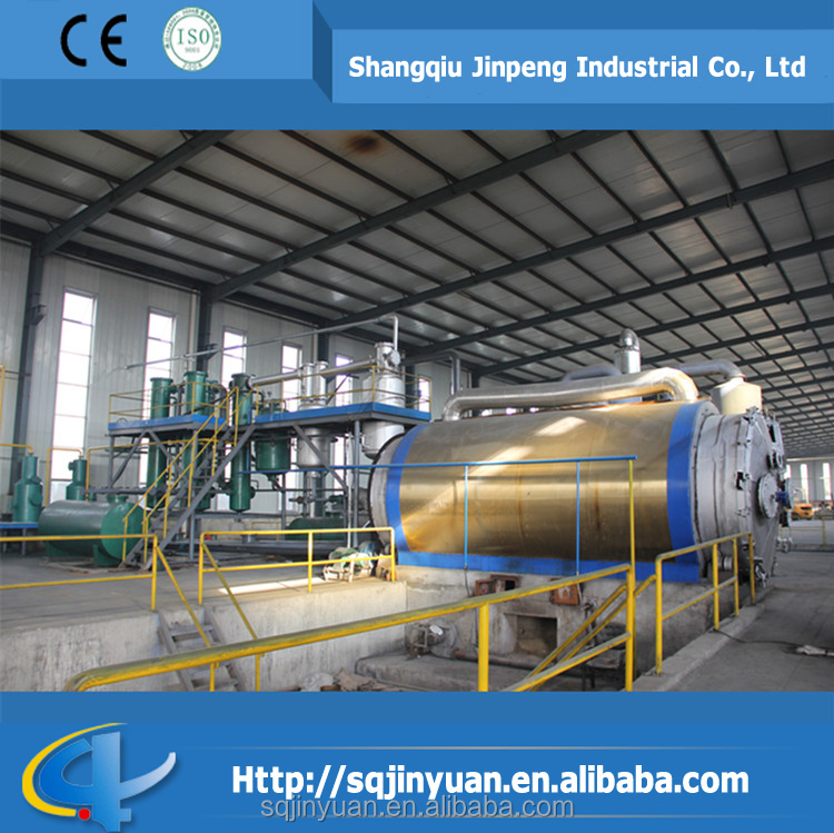 Waste Used Tyre Pyrolysis Machine to Crude Oil with High Profit