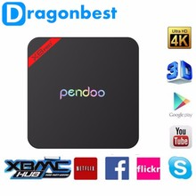 1080p full hd video song x8 pro+ android 2gb 16g Pendoo S905X quad core install free play store app Kodi XBMC media player