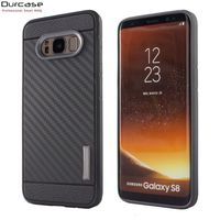 For Sam S8 Case ,OEM Protective Mobile Phone Carbon Fibre Case Cover For Samsung Galaxy S8