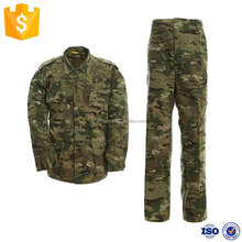 High quality camouflage wholesale bdu military uniform