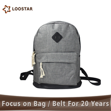 ABC008 Widely Used Best Prices Unisex Weekend Shopper Lightweight Canvas waterproof <strong>Backpack</strong>