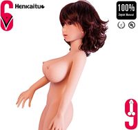 Full Silicone Mini Size 100cm Sex Doll Real Vagina For Man Sexy Pussy Adult Sex Doll
