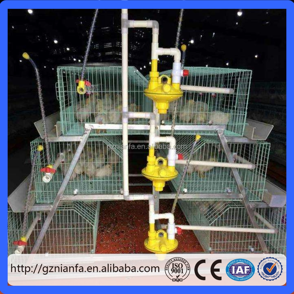 Kenya multi-tier chicken coop manual poultry chicken layer cage(Guangzhou Factory)